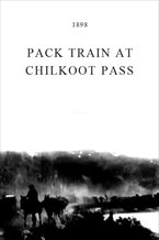 Pack Train at Chilkoot Pass