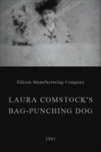 Laura Comstock's Bag-Punching Dog