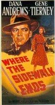 Where the Sidewalk Ends (1950)