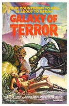 galaxy of terror dvd